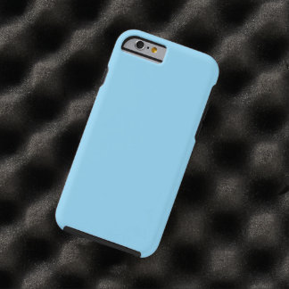 Baby Blue Solid Color Tough iPhone 6 Case