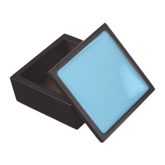 Baby Blue Solid Color Jewelry Box