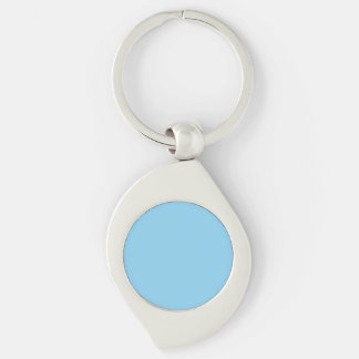 Baby Blue Solid Color Keychain