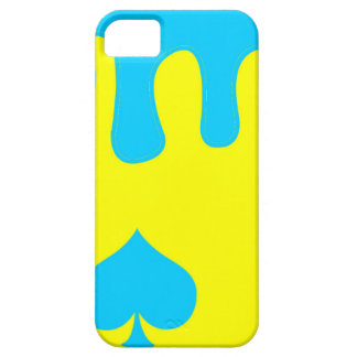 Baby Blue Spades Case iPhone 5 Cover