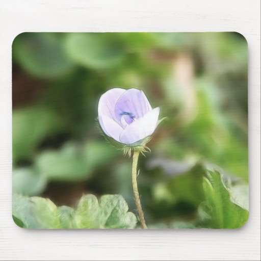 Baby Blue Speedwell Mousepad