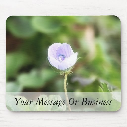 Baby Blue Speedwell Mouse Pads