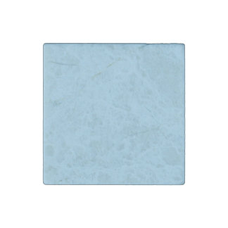 Baby Blue Star Dust Stone Magnet