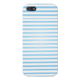 baby blue striped iphone case