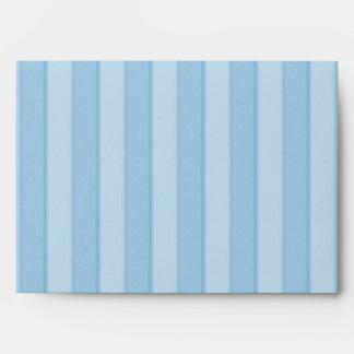 Baby Blue Stripes Elegance Coordinating Envelope