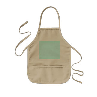 Baby Blue Template Kids' Apron