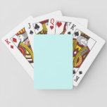 Baby Blue Template Playing Cards