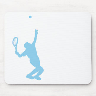 Baby Blue Tennis Mouse Pad