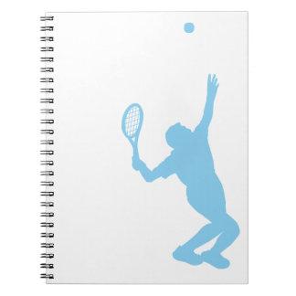 Baby Blue Tennis Journal