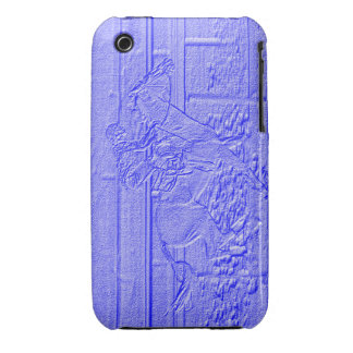 Baby Blue Thoroughbred Racehorse iPhone 3 Covers
