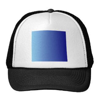 Baby Blue to Navy Blue Vertical Gradient Mesh Hat