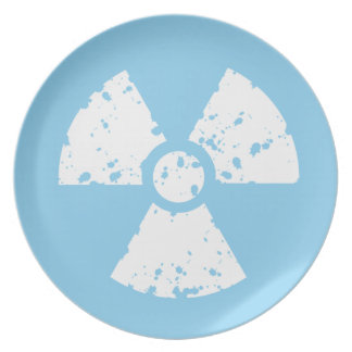 Baby Blue Toxic Plate