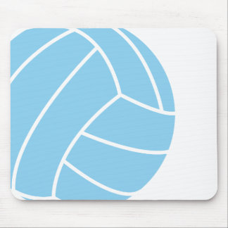 Baby Blue Volleyball Mouse Pad