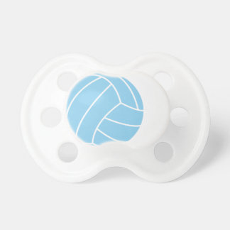 Baby Blue Volleyball Baby Pacifier