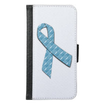 Baby Blue Wallet Phone Case For Samsung Galaxy S6