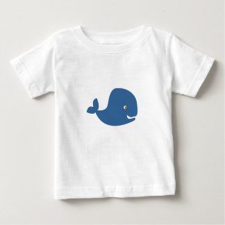 Baby Blue Whale Baby T-Shirt