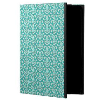 Baby Blue & White Damask iPad Air Case