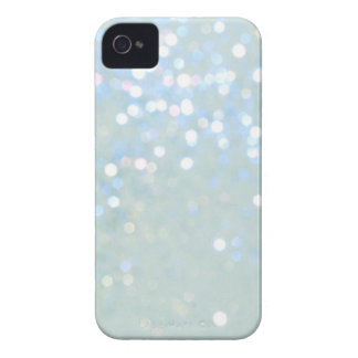Baby Blue/White Glitter iPhone 4/4S Cover
