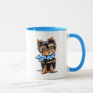 Baby Blue Yorkie Mug