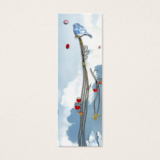 Baby Bluebird  Bookmark Mini Business Card
