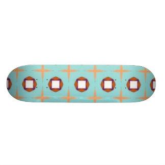 baby blues custom skate board