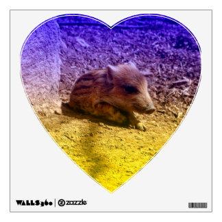 baby boar, blue room graphics