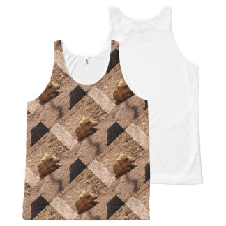 baby boar All-Over print tank top