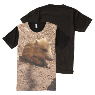 baby boar All-Over print t-shirt
