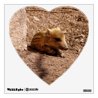 baby boar room sticker