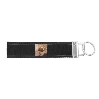 baby boar wrist keychain
