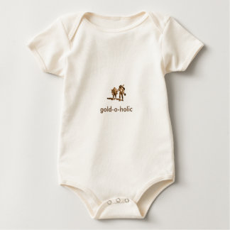 Baby Body from bio cotton, nature gold o holic Baby Bodysuit