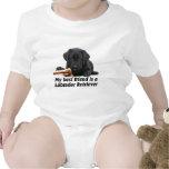 """Baby-Body """"Labrador Retriever"""" Shirts"""