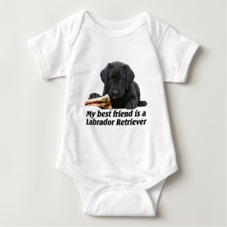 """Baby-Body """"Labrador Retriever"""" T Shirt"""
