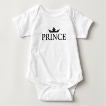 Baby Body Royal Family Prince Baby Bodysuit