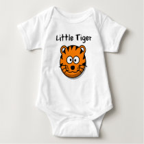"Baby Body Suit ""Little Tiger"" Cute Baby Outfit Baby Bodysuit"