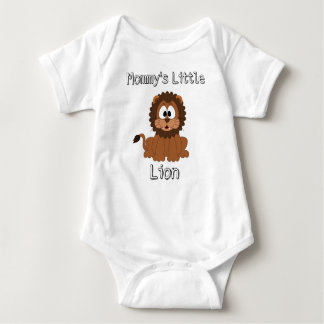 "Baby Body Suit ""Mommy's Little Lion"" Boy Baby Bodysuit"