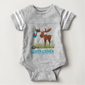 Baby Bodysuit Easter - Moose