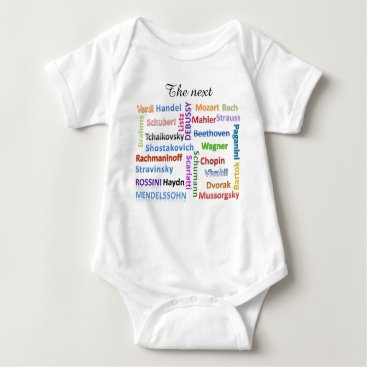 Toddler & Baby themed Baby Bodysuit The Next Great Music Composer