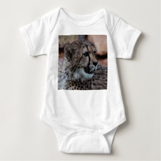 Baby Bodysuit with cheetah cub picture