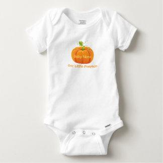 Baby Bodysuit with Pumpkin - Our Little Pumpkin