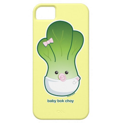 Baby Bok Choy iPhone 5 Cover
