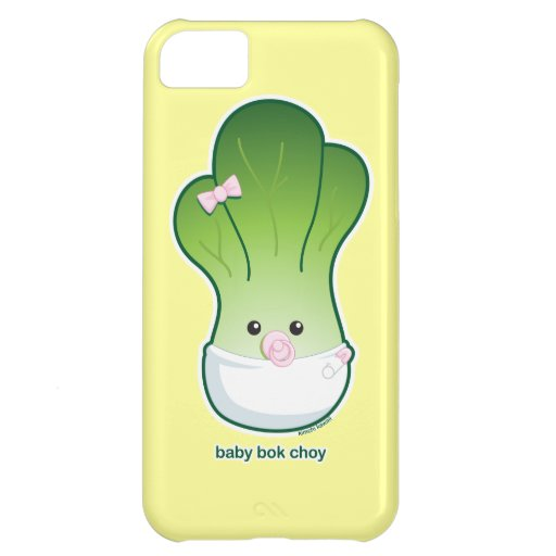 Baby Bok Choy iPhone 5C Covers