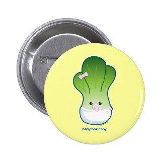Baby Bok Choy Pinback Button