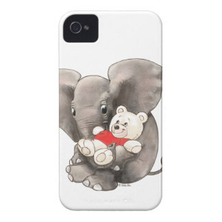 Baby Boo with Bear iPhone 4 Case-Mate Case