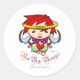Baby Boogie - Angel Classic Round Sticker