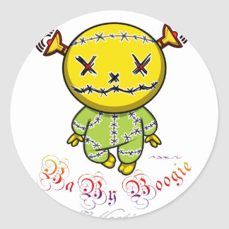 Baby Boogie - Bad Smiley Classic Round Sticker