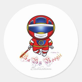 Baby Boogie - Bioman Classic Round Sticker