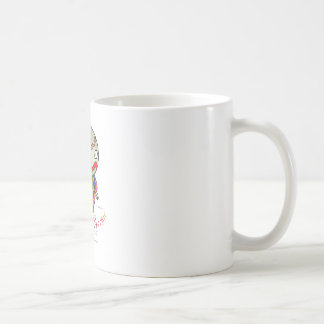 Baby Boogie - Clowny Classic White Coffee Mug