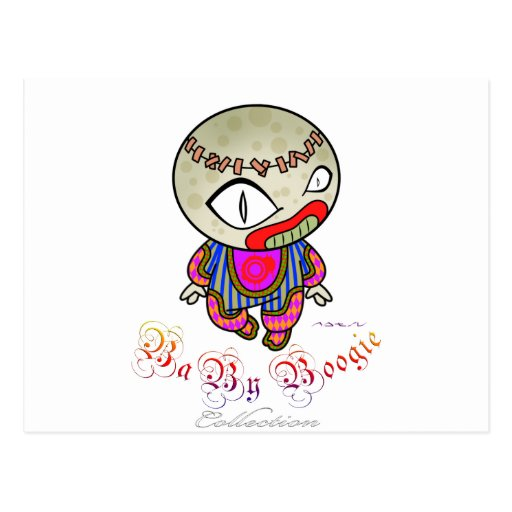 Baby Boogie - Clowny Postcard