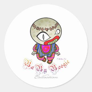 Baby Boogie - Clowny Classic Round Sticker